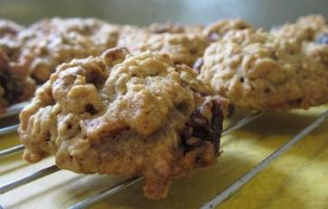 Recipe: Chewy Oatmeal Cranberry Cookies (Vegan, Gluten-Free)