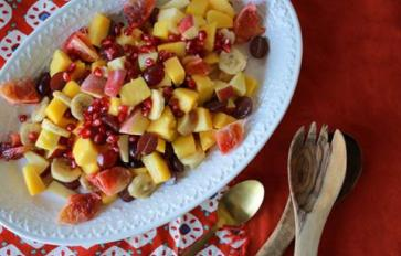 Spicy, Tangy, Sweet: The Best Fall Fruit Salad