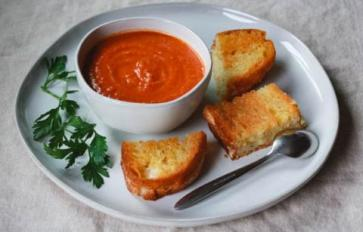 Meatless Monday: The Comfort & Ritual Of Grilled Cheese & Tomato Soup