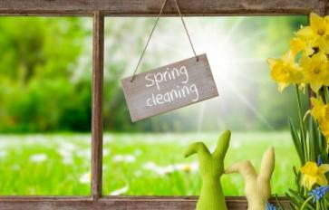 Meaningful Spring Cleaning
