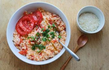 Meatless Monday: Simple Summer Risotto With Tomatoes